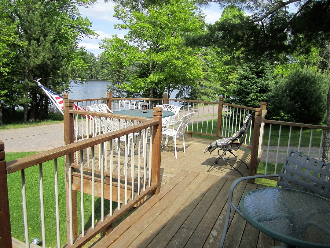 Eagle Bay deck